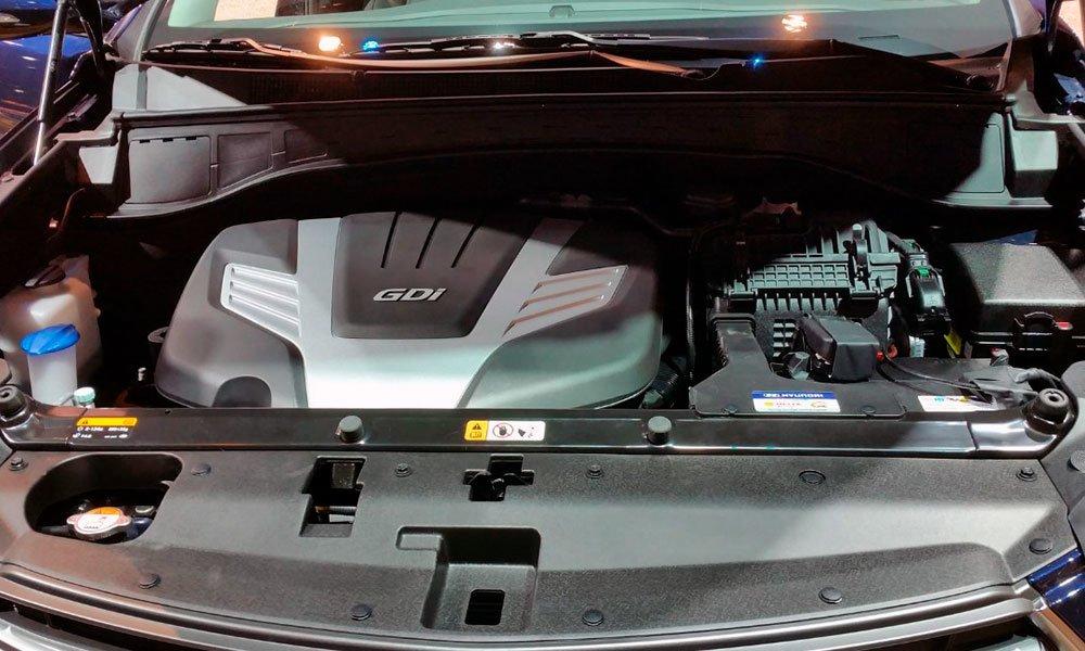 Hyundai-Santa-FE-2021-Двигатель