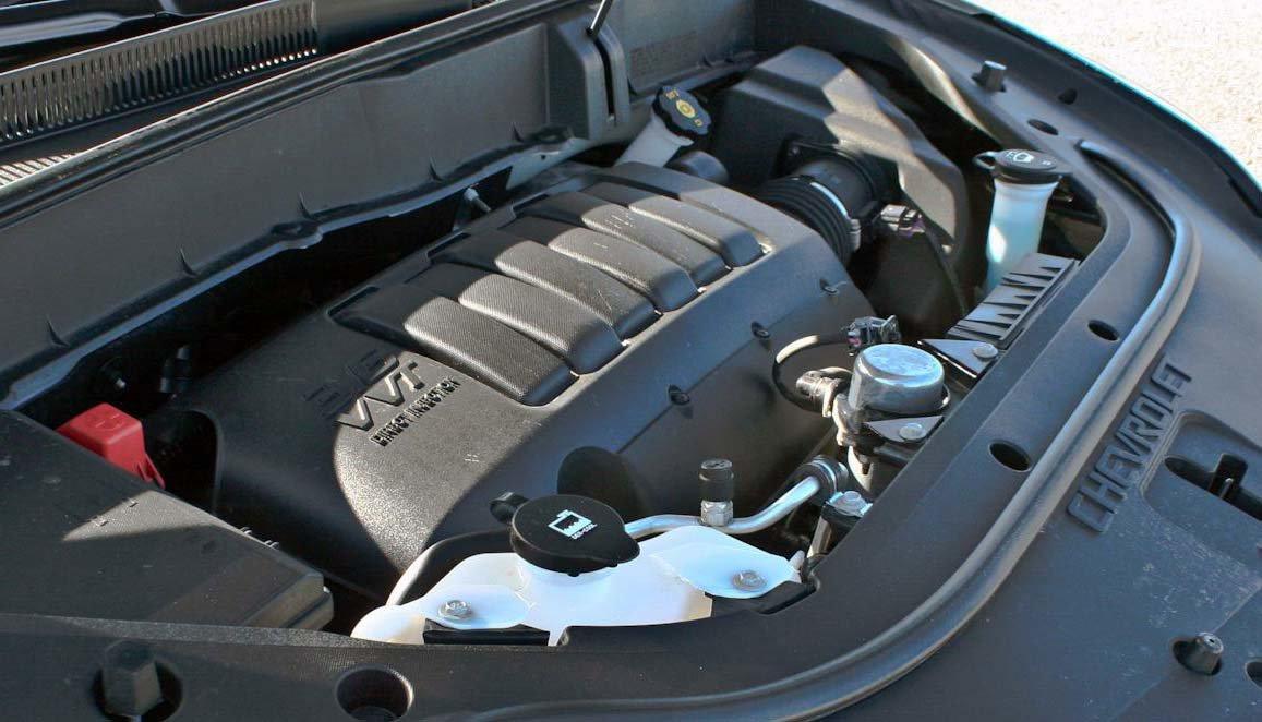 Шевроле Траверс двигатель